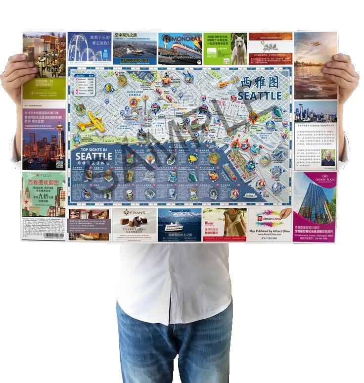 persona con mapa demo