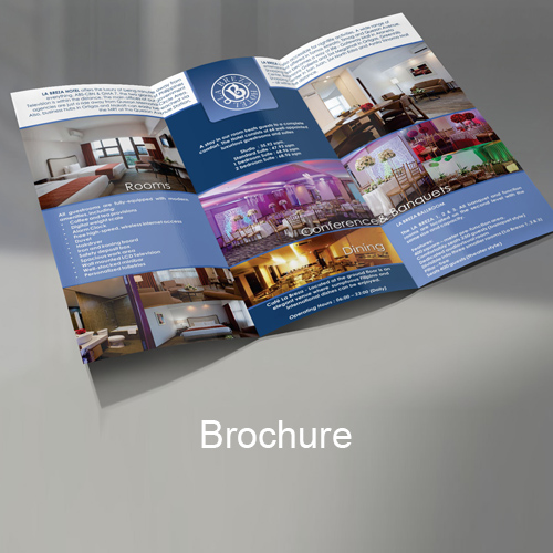 Diseño Hotel brochure design para hotel o negocio