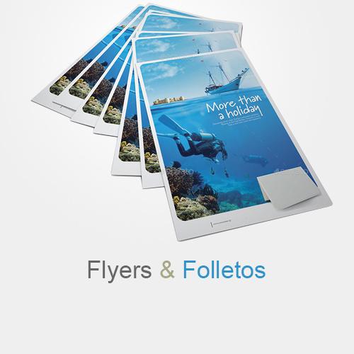 Diseño folletos promocionales para hotel o negocio