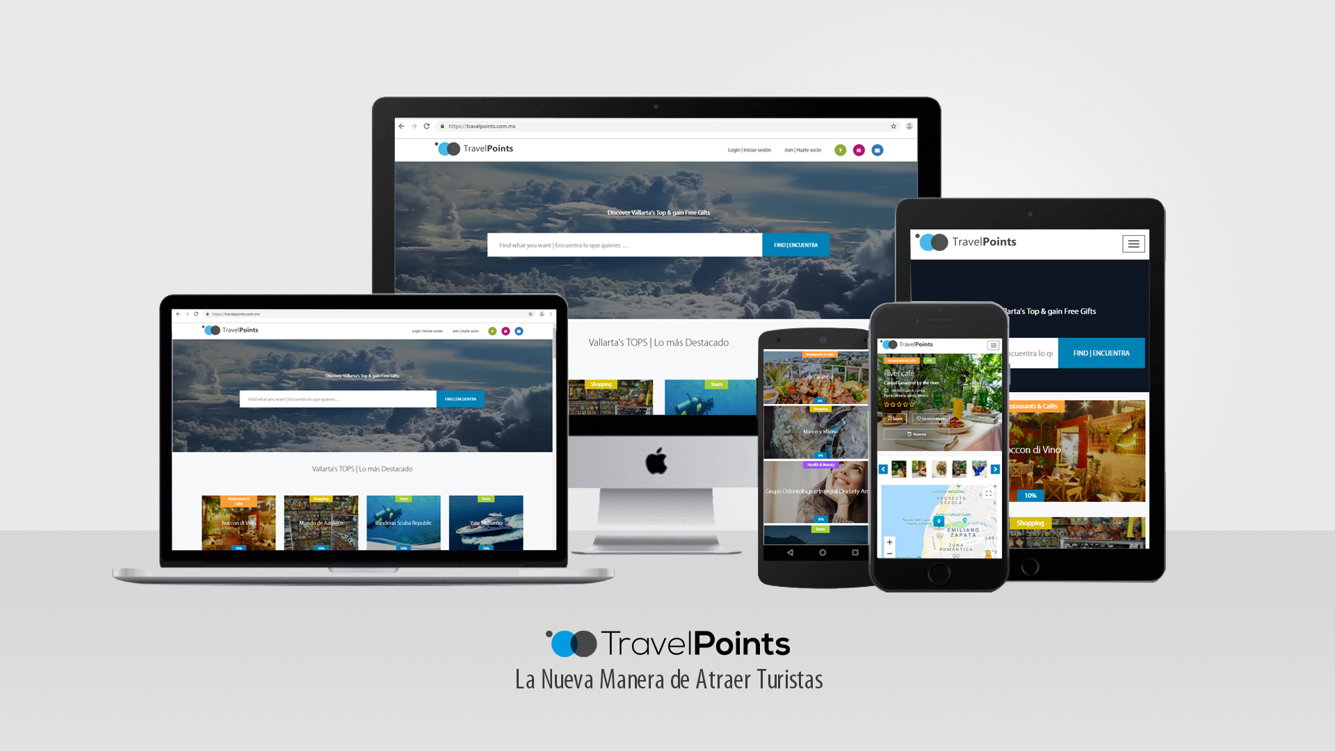 00 Travel Points diapositiva power point presentacion hotel para anunciantes portada