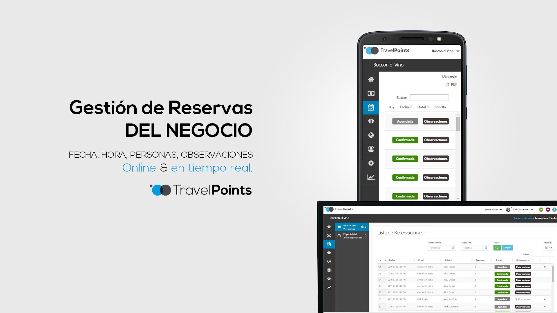 30 Travel Points diapositiva power point presentacion hotel para anunciantes gestion de reservas para el negocio