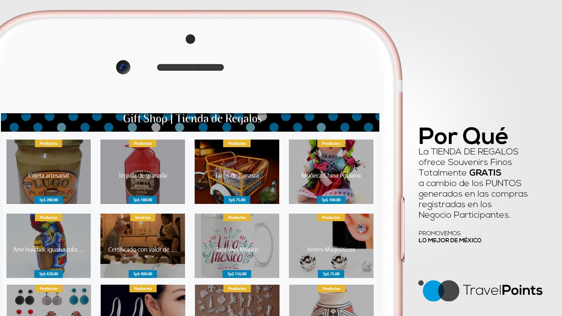 60 Travel Points diapositiva power point presentacion hotel para anunciantes POR QUÉ tienda de regalos