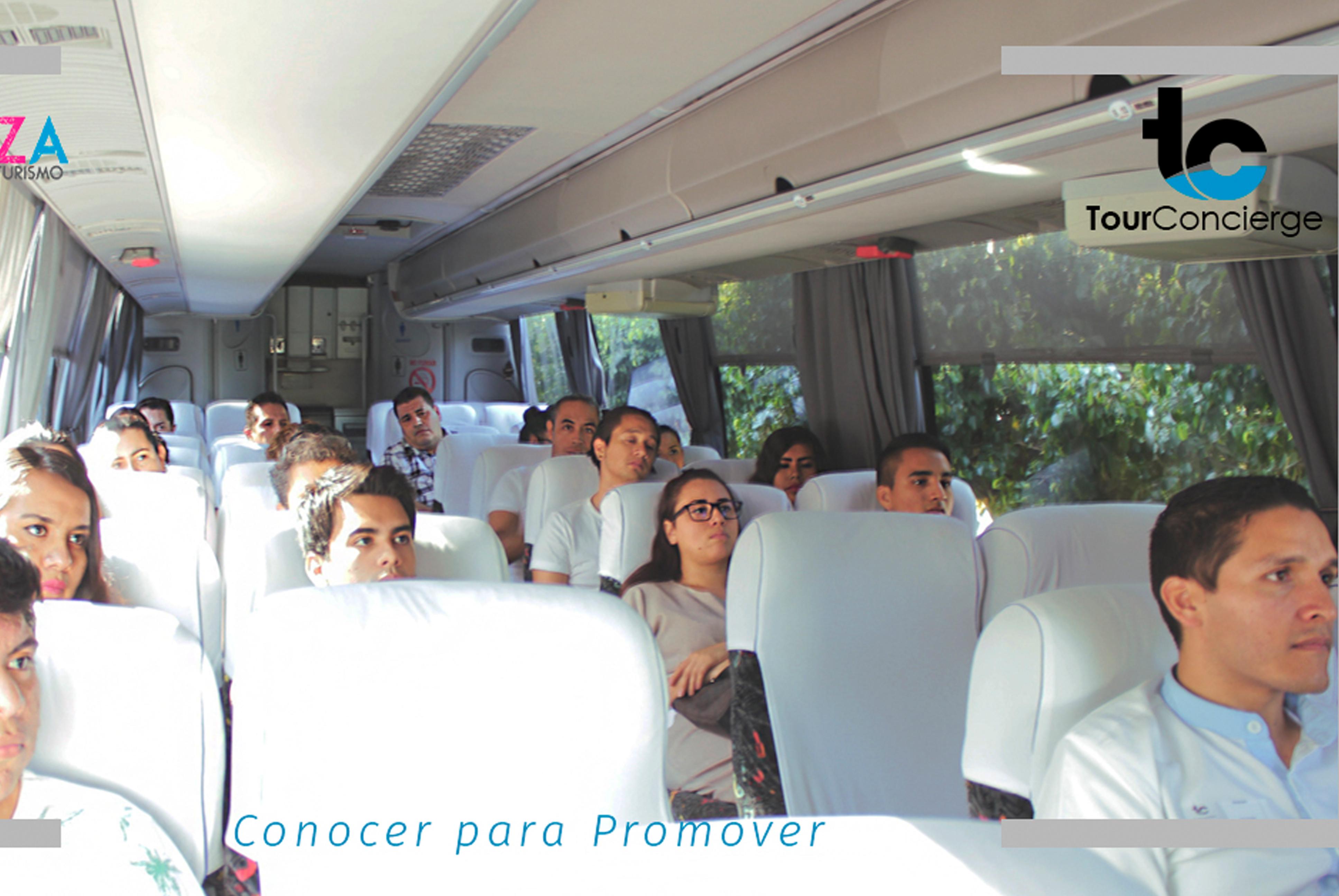 tour concierge bus