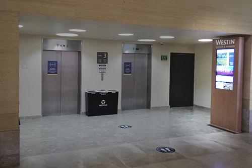 westin info lobby elevadores westin